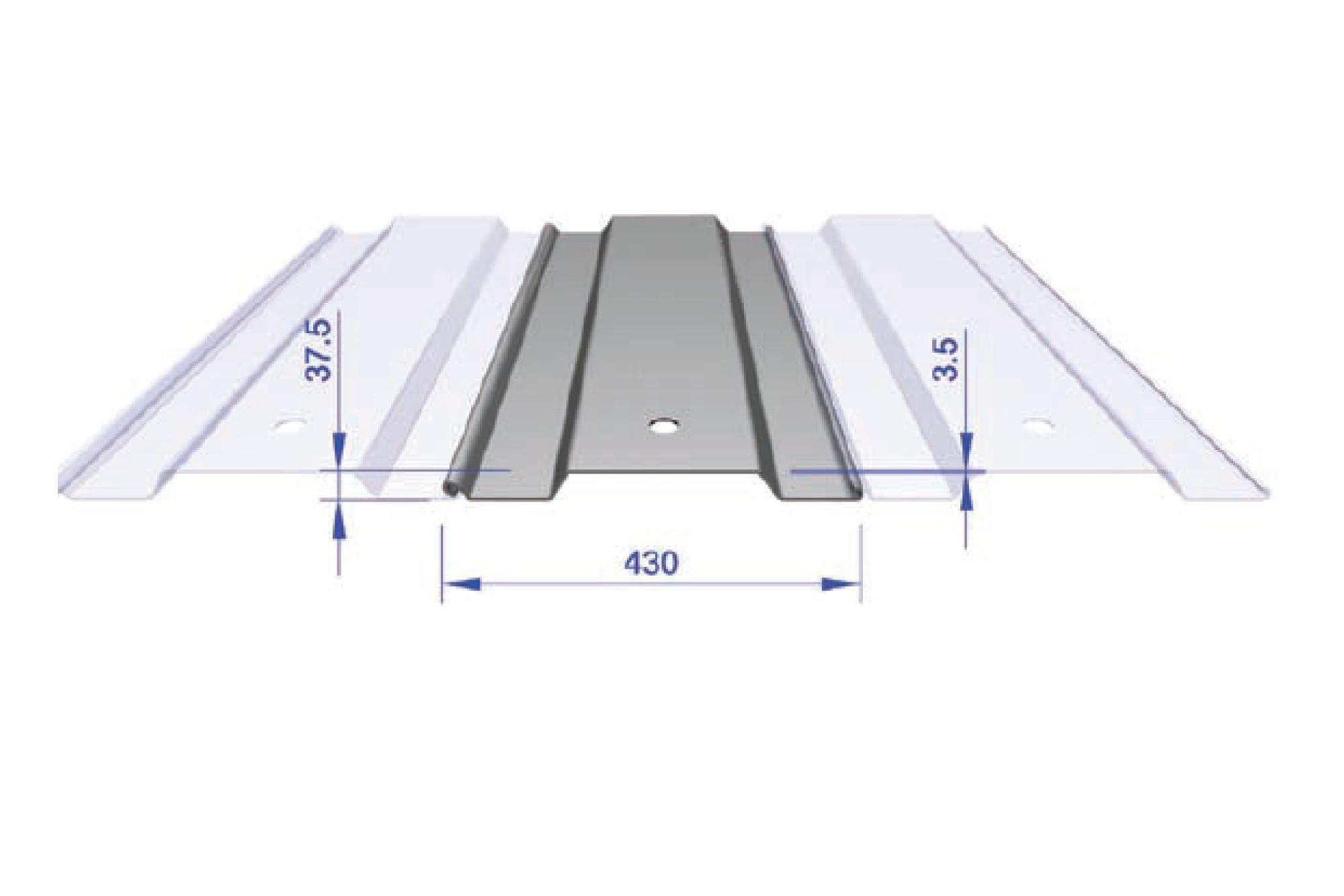 Interlocking Trench Sheet - L8 430mm Wide