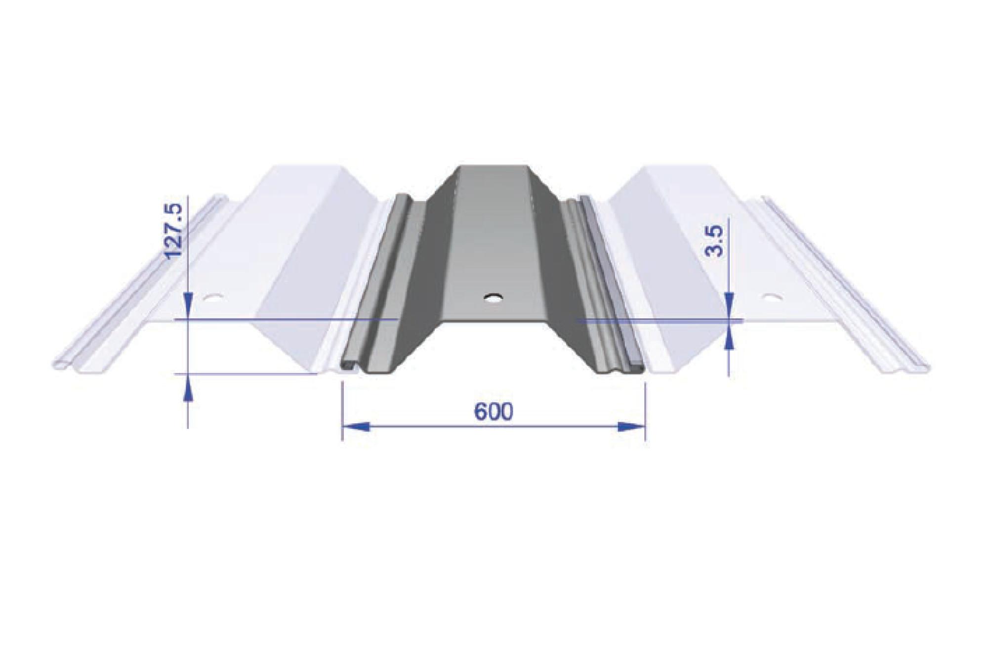 Interlocking Trench Sheet - FLP 600/3.5 600mm Wide