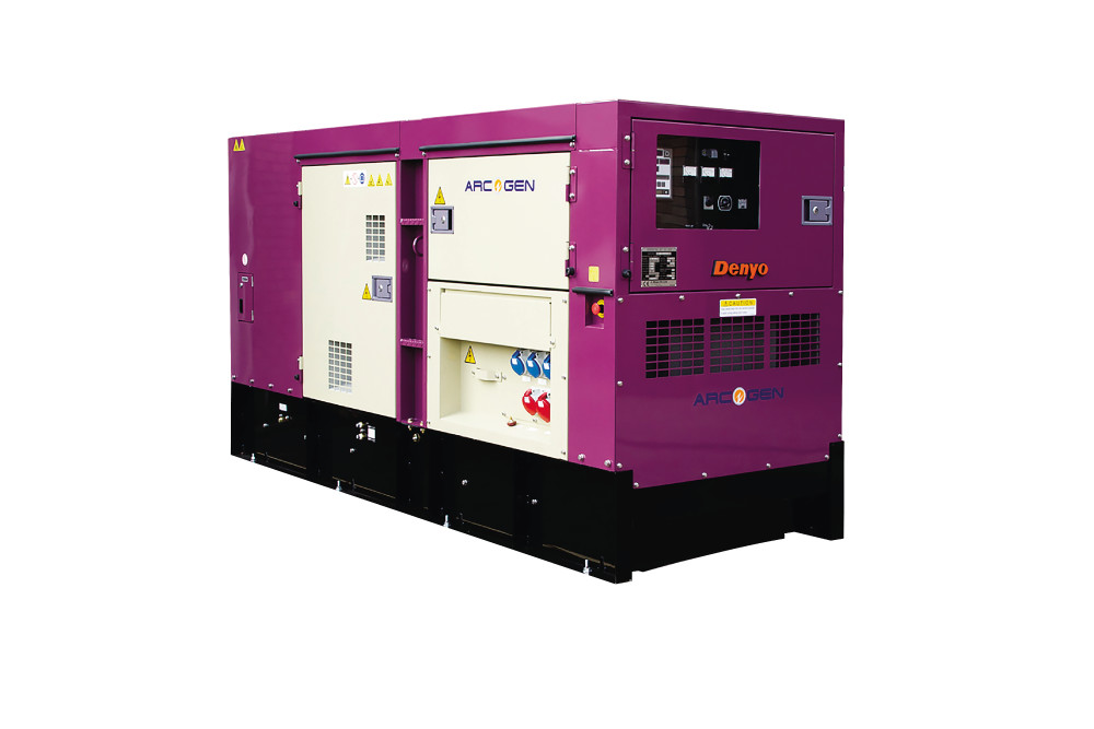 Super Silent 100kVA Diesel Generator