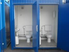 Mains Toilet Blocks