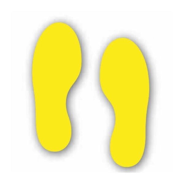 Foot Print Pair (Floor Graphic)