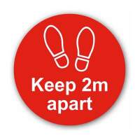 Keep 2mtr Apart (Floor Graphic)