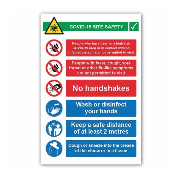 Covid 19 Site Safety Inst (6 message)