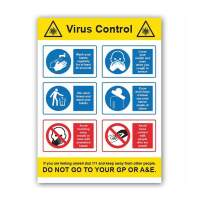 Wash Cover Bin Avoid Virus Control (6 Message)