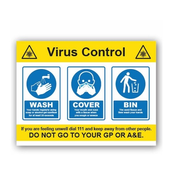 Wash Cover Bin Virus Control (3 Message)