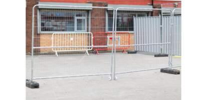 Mesh Vehicle Gate
