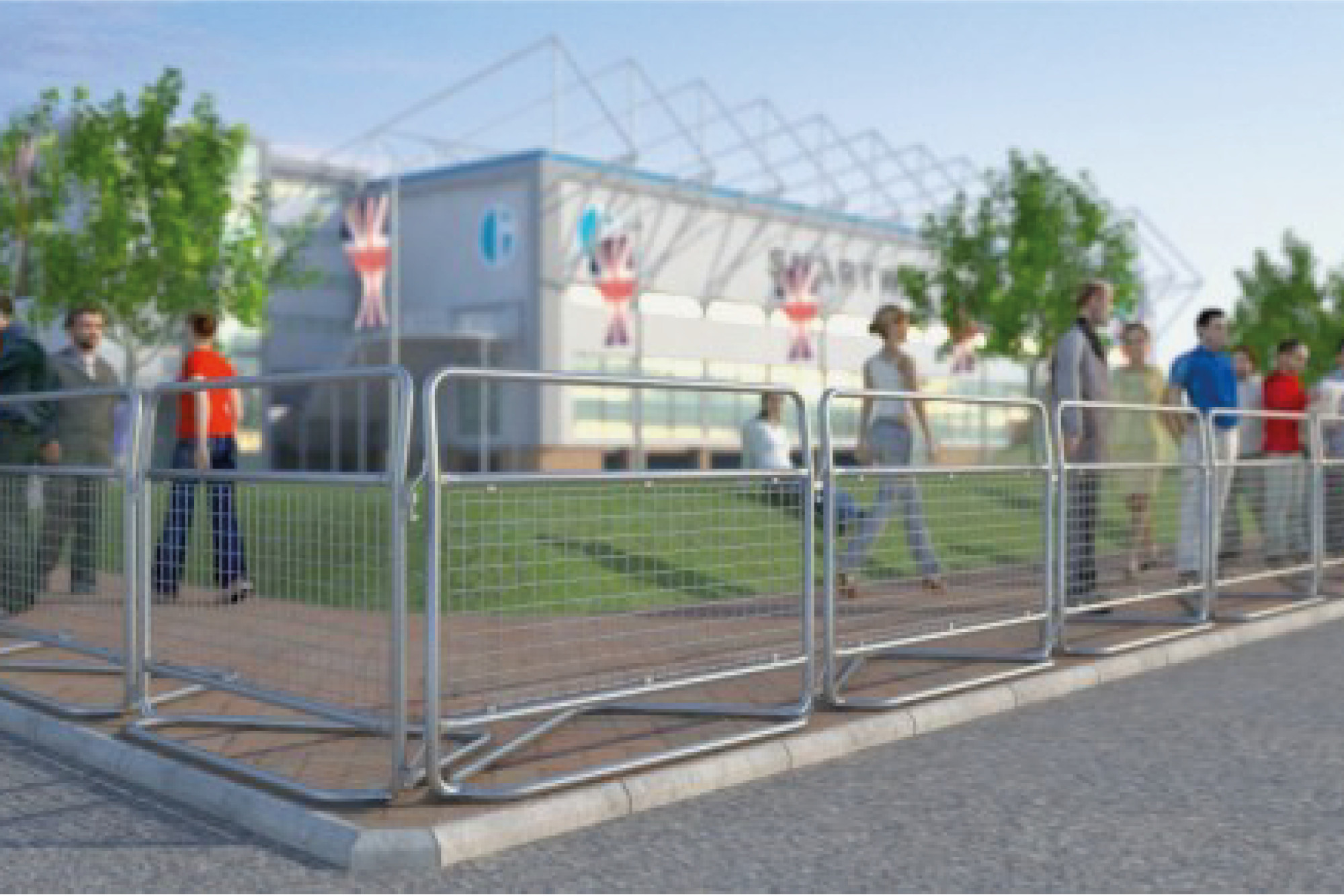 Metropolitan Police Barrier
