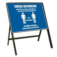 Bespoke Site Safe Distancing Signs