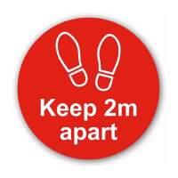 Keep 2mtr Apart (Floor Graphic)