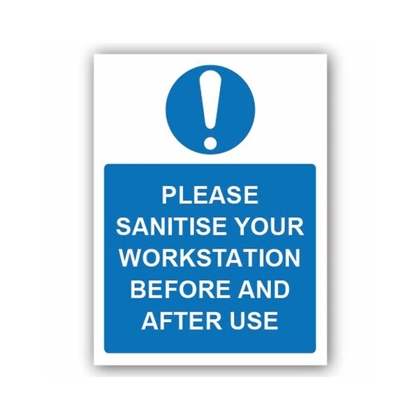 Please Sanitise Your Work Station