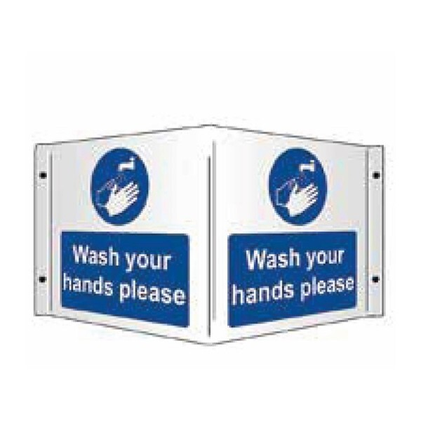 Wash Your Hands Please (3D Projecting)