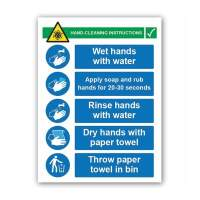 Hand Cleaning Instructions
