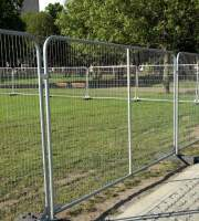 Temporary Security Fencing
